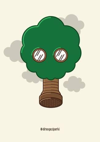 occupy_gezi_contemp_art_tree_gasmask